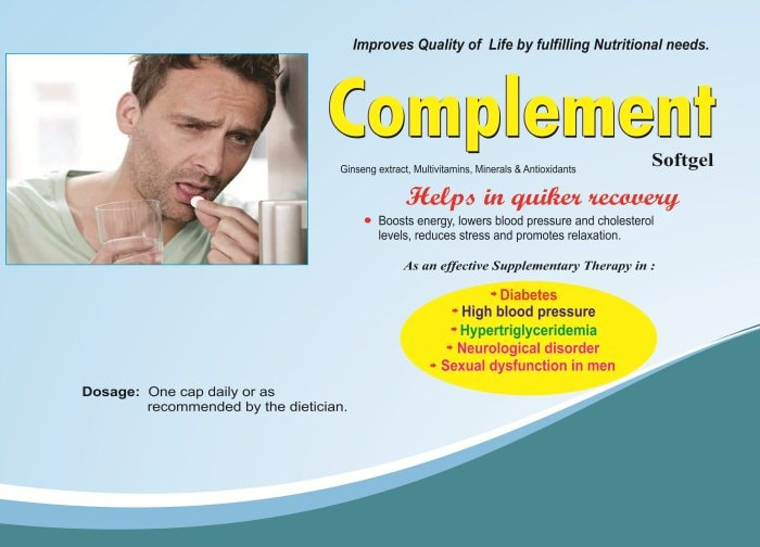 Complement-Softgel-Ginseng-Extract-Multivitamins-Minerals-Antioxidants-Vidhyasha-Pharmaceuticals-Best-Pharma-PCD-Franchise-Company