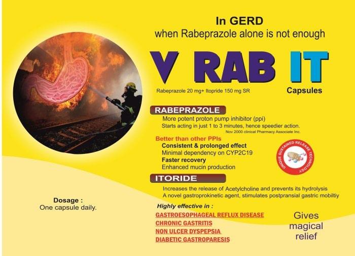 V-RAB-IT-Capsules-Rabeprazole-20mg-Itopride-150mg-SR-Vidhyasha-Pharmaceuticals-Best-Pharma-PCD-Franchise-Company